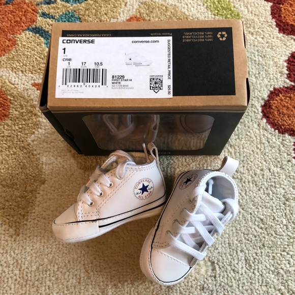 Converse Shoes | Baby Size 1 | Poshmark